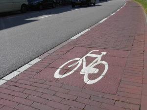 Bike Lane in Amsterdam