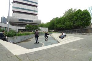 Water Management and Climate Adaptation: water square Benthemplein by De Urbanisten