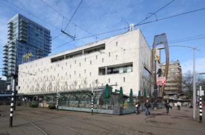 Post-war architecture: Bijenkorf department store in Rotterdam by Marcel Breuer