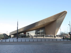 Rotterdam Central Station by Team CS - architecture tour