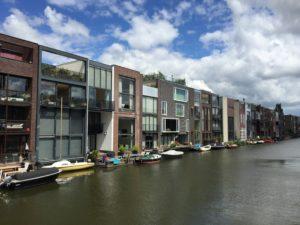 Self-build housing in Scheepstimmermanstraat